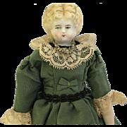 "Antique 8"" Parian Doll"