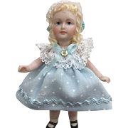 "Sweet 3"" Bisque Artist Doll"