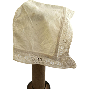 Antique Doll Bonnet