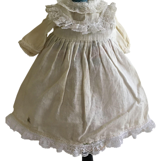 Sweet Antique Dress for Smaller Bisque Doll