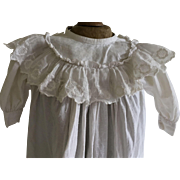 Antique Pinafore Doll Dress