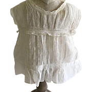 Sweet Antique Camisole For Antique Bisque Doll