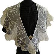 Beautiful Antique lace Collar for Antique Doll