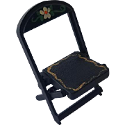 Renwal Black Pennsylvania Folding Chair