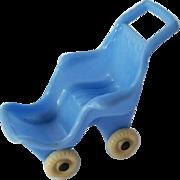 Vintage 1940's Dollhouse Stroller