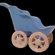 Vintage Renwal Dollhouse Stroller 1940's