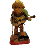 Fabulous Guitar Playing Monkey Toy Japan
