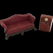 Vintage Renwal Dollhouse furniture Ca. 1940's