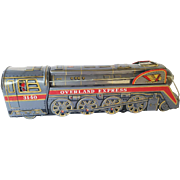 Vintage 1950' Overland Express Tin Toy in Box