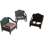 Tootsie toy Dollhouse Chairs