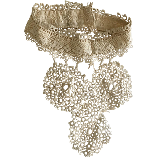 Antique Neck Collar for Bisque Doll