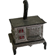 Wonderful Antique Metal Dollhouse Cooking Stove