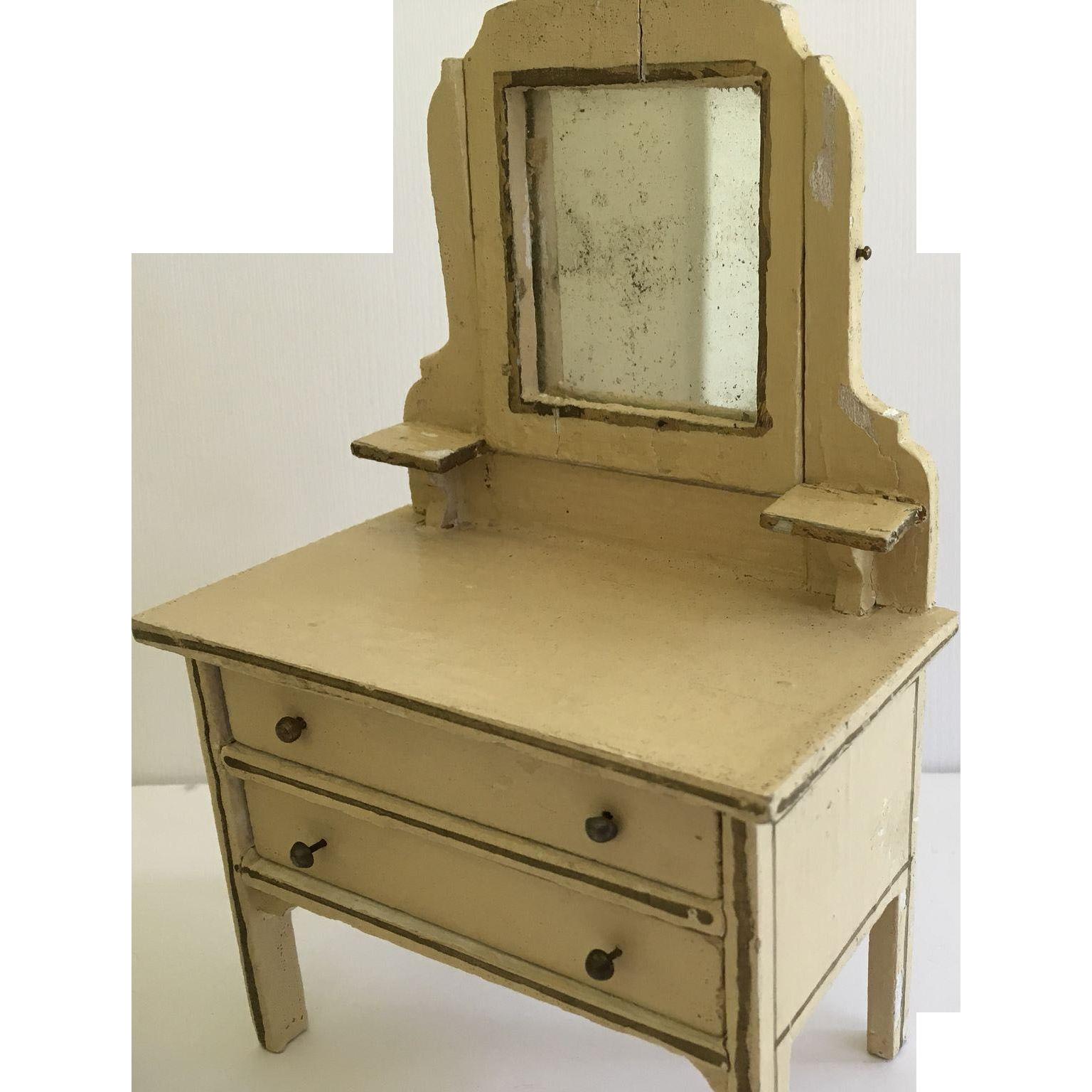 Wonderful  German Gottschalk Dollhouse Furniture Ca. 1925