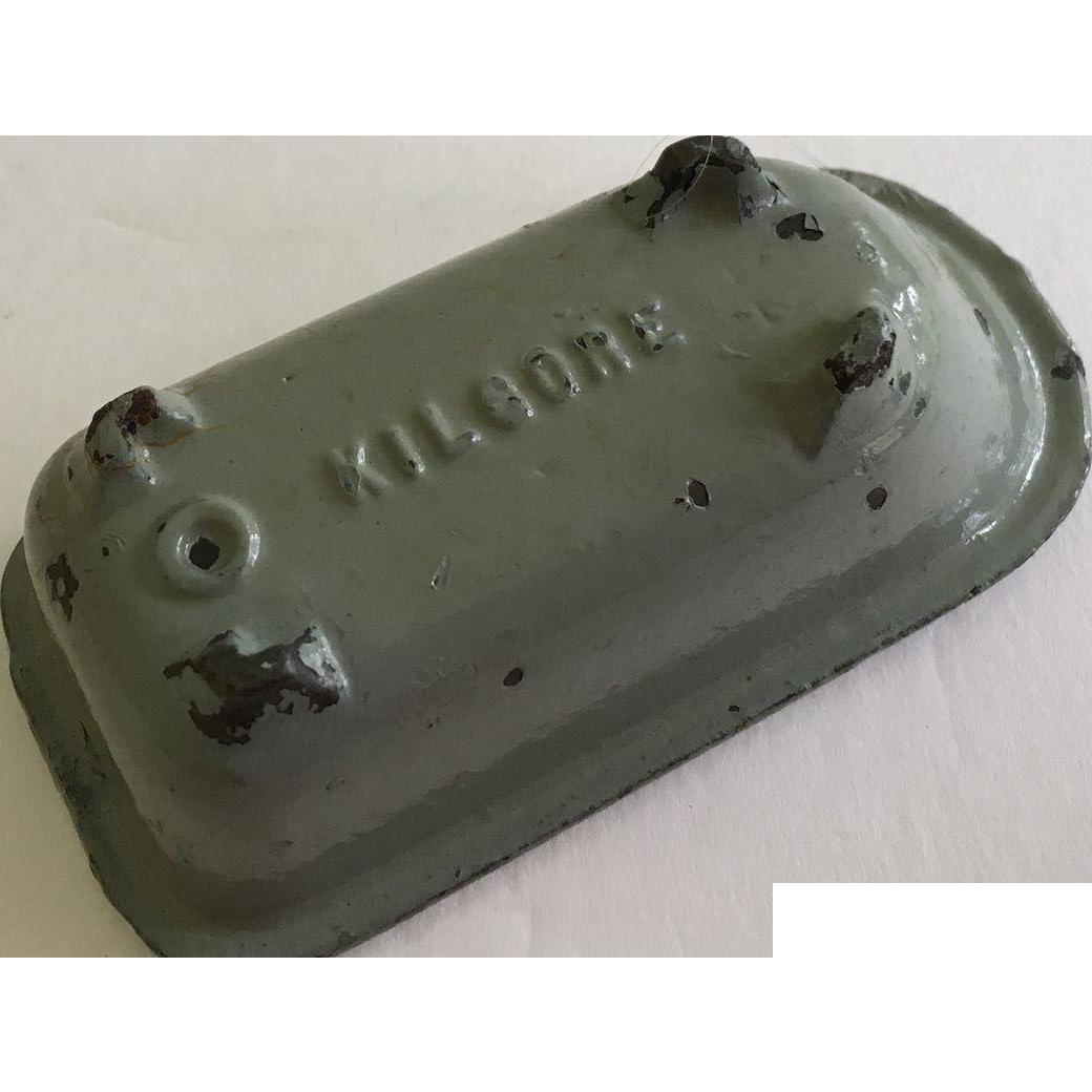 Dollhouse Kilgore Iron Bath Tub ca.1930