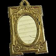Beautiful German Ormolu Dollhouse Mirror