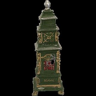 Rare Dollhouse Tin Parlor Stove ca. 1900