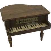 Antique dollhouse Schoenhut Piano
