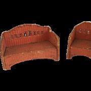 German Gottschalk Korbi Dollhouse furniture