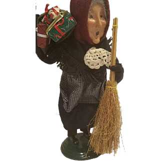 Byers Choice Old-Befana Italian Christmas Witch 1994-Witch