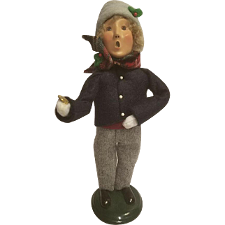 Byers Choice Caroler Boy with Coin