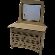 Antique German Gottschalk Dollhouse Dresser