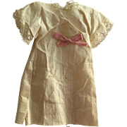 Antique Tiny Factory Doll Dress