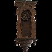 Antique large scall German Dollhouse Clock