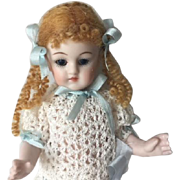 Beautiful Artist made Bisque Doll 6""