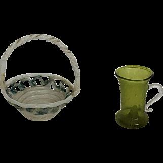 Fabulous Handblown Dollhouse Glass