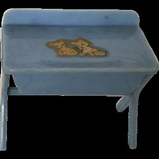 Vintage Renwal Doll Bathinette ca. 1940's
