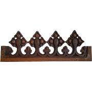 19th Century Hand Carved Religious Gothic, Architectural Element