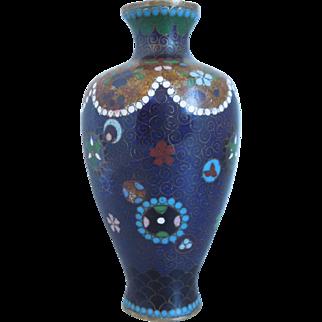 19th Century Chinese Cloisonne Vase