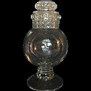 Glass Apothecary Jar c. 1910