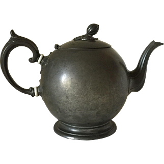 Britannia Teapot by Philip Ashburry & Sons. Sheffield c. 1860