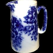 Flow Blue Pitcher c. 1870