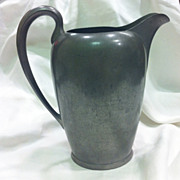 Pewter Water Pitcher by Wilcox Silverplate Co. c. 1910