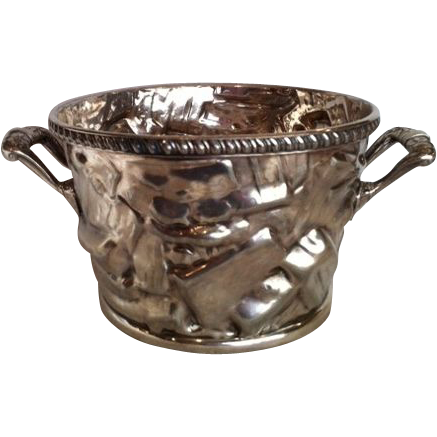 Reed & Barton Silverplate Ice Bucket c. 1880