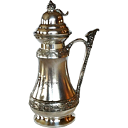 Middletown Silver Co. Syrup Jug Circa 1880