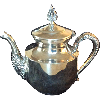 SilverplateTeapot, c. 1900, C. B. Barkes Mfg. Co.