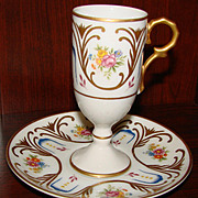 """Lefton China 5"""" After Dinner Cup & Saucer"""