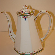 Balleroy Freres -- B & C ie LIMOGES, France Coffee Pot.