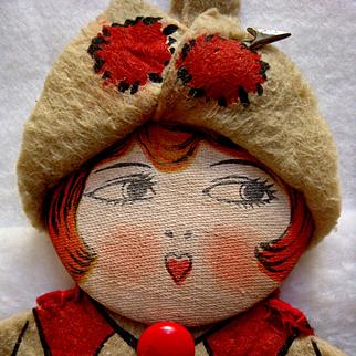 1920's Flapper Doll Purse