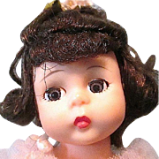 Vintage Madame Alexander 8 Inch Pink Ballerina Doll circa 1960s