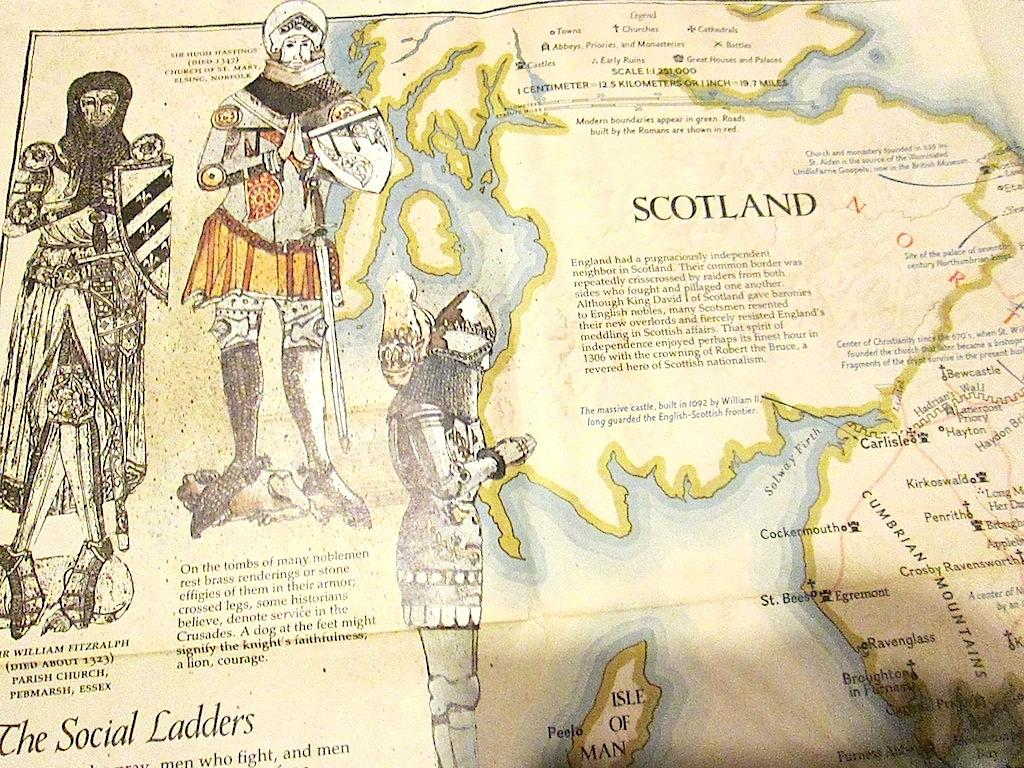 national geographic society wall map of medieval england u0026 british