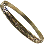 Collectable Early Danecraft Sterling Silver Bangle Bracelet
