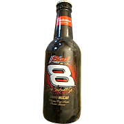 "Commemorative Budweiser Dale Earnhardt Jr. 2000 Rookie Season 15"" Glass Bottle Bank/Decor"