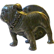Vintage Brass MACK French Bulldog/ Boston Terrier Tie Tack - Tie Pin - Lapel Pin - Hat Badge -Free Ship*