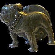 Vintage Brass MACK French Bulldog/ Boston Terrier Tie Tack - Tie Pin - Lapel Pin - Hat Badge -Free Ship*