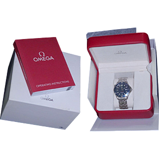 Mens Omega  Seamaster Professional Reference #2221.80  41mm. Full size Bond Watch