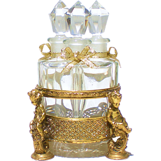 Apollo Studios Ormolu Scent Caddy for Perfume